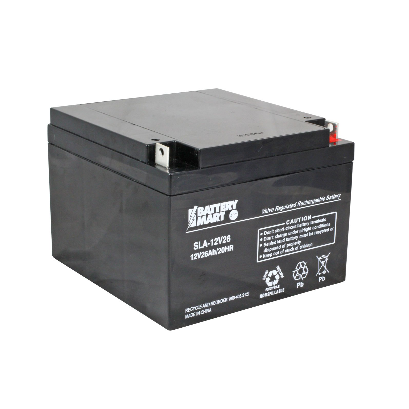 12 volt 26 ah sealed lead acid rechargeable battery. Black Bedroom Furniture Sets. Home Design Ideas