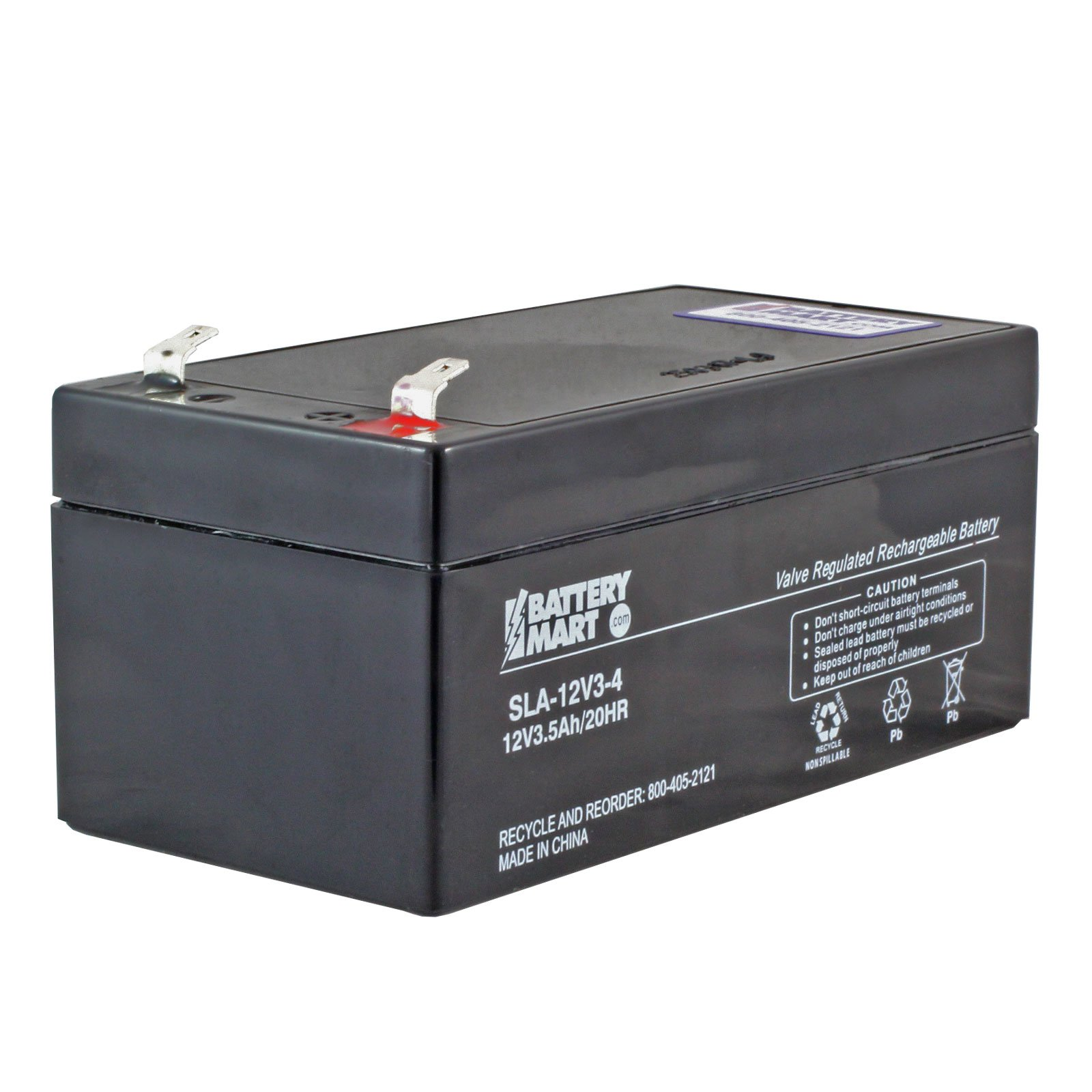 12 volt 3 2 ah sealed lead acid rechargeable battery f1. Black Bedroom Furniture Sets. Home Design Ideas