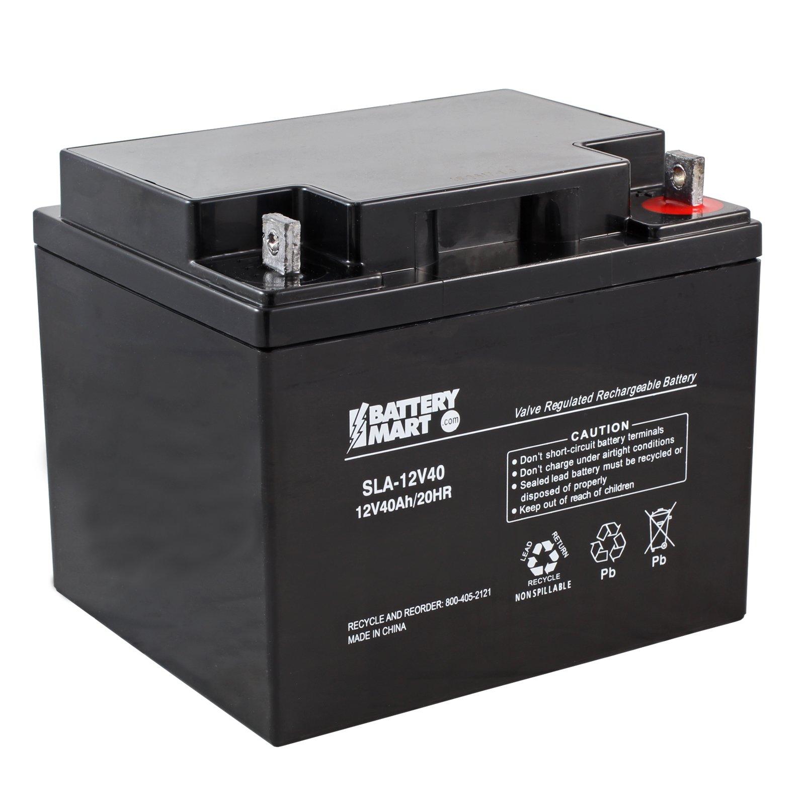 12 Volt 40 Ah Sealed Lead Acid Rechargeable Battery Nut