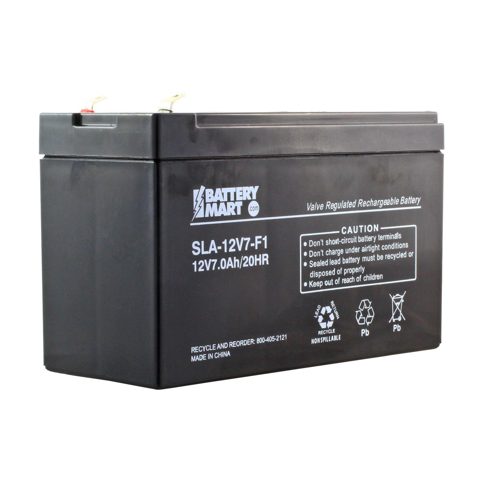 12 Volt 7 Ah Sealed Lead Acid Rechargeable Battery