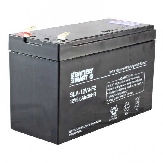 12 Volt 9 Ah Sealed Lead Acid Rechargeable Battery
