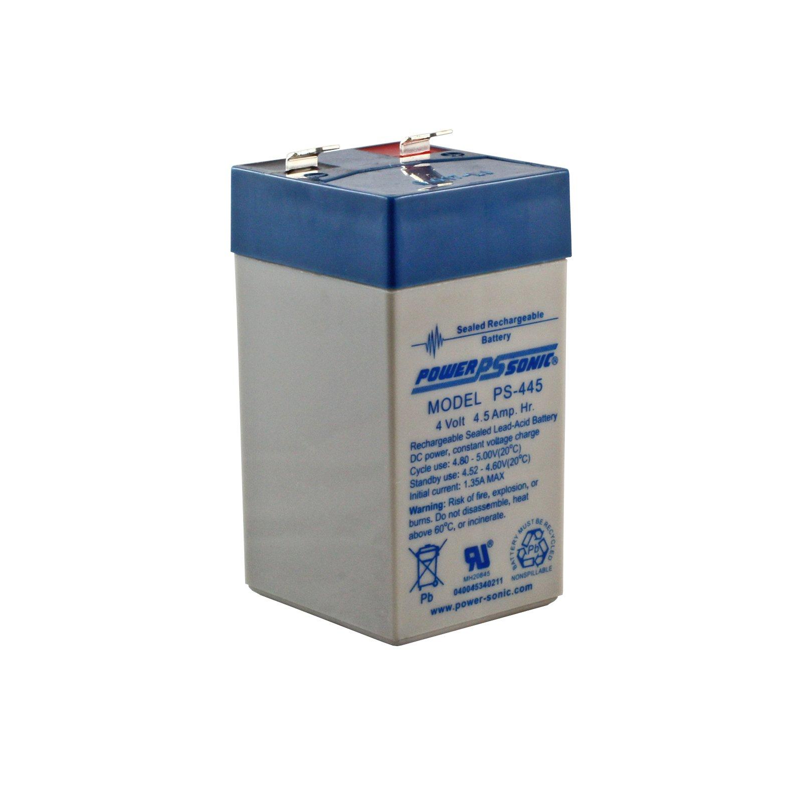 4 Volt 4 5 Ah Sealed Lead Acid Rechargeable Battery