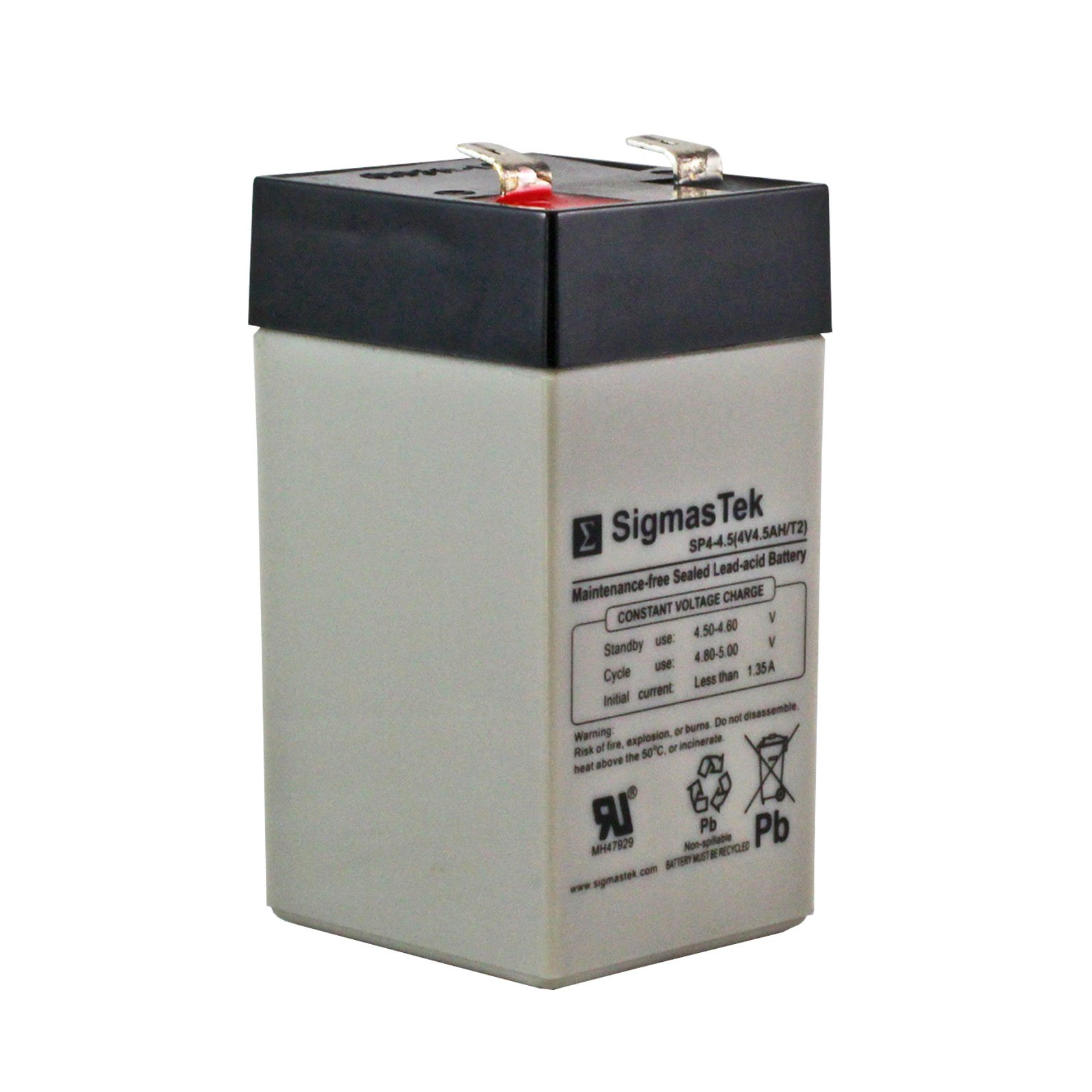 4 Volt 4 5 Ah Sealed Lead Acid Rechargeable Battery