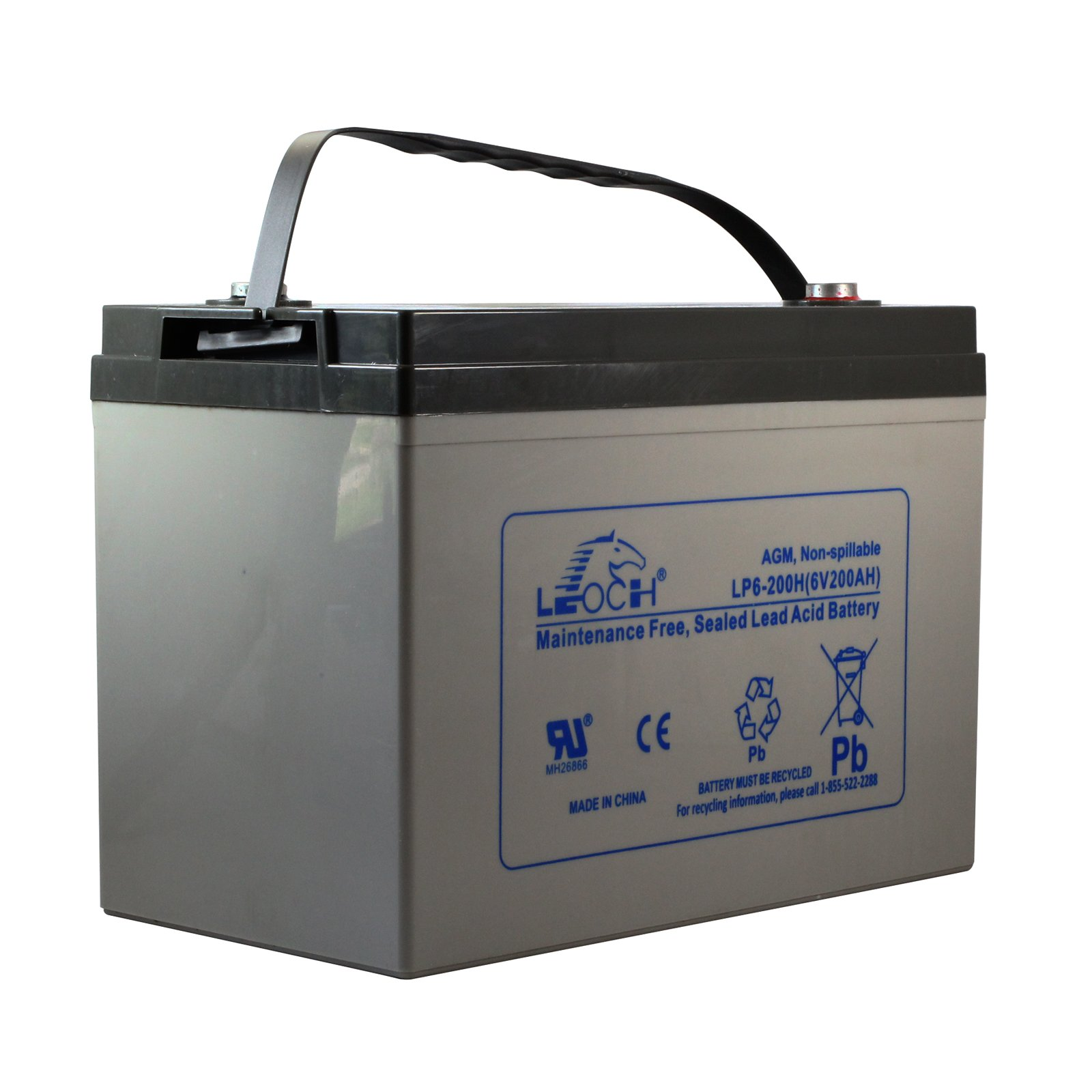 6v 200ah Sealed Lead Acid Rechargeable Battery