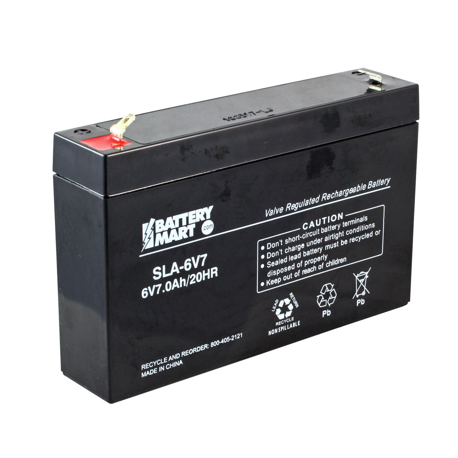6 volt 7 ah sealed lead acid rechargeable battery f1. Black Bedroom Furniture Sets. Home Design Ideas