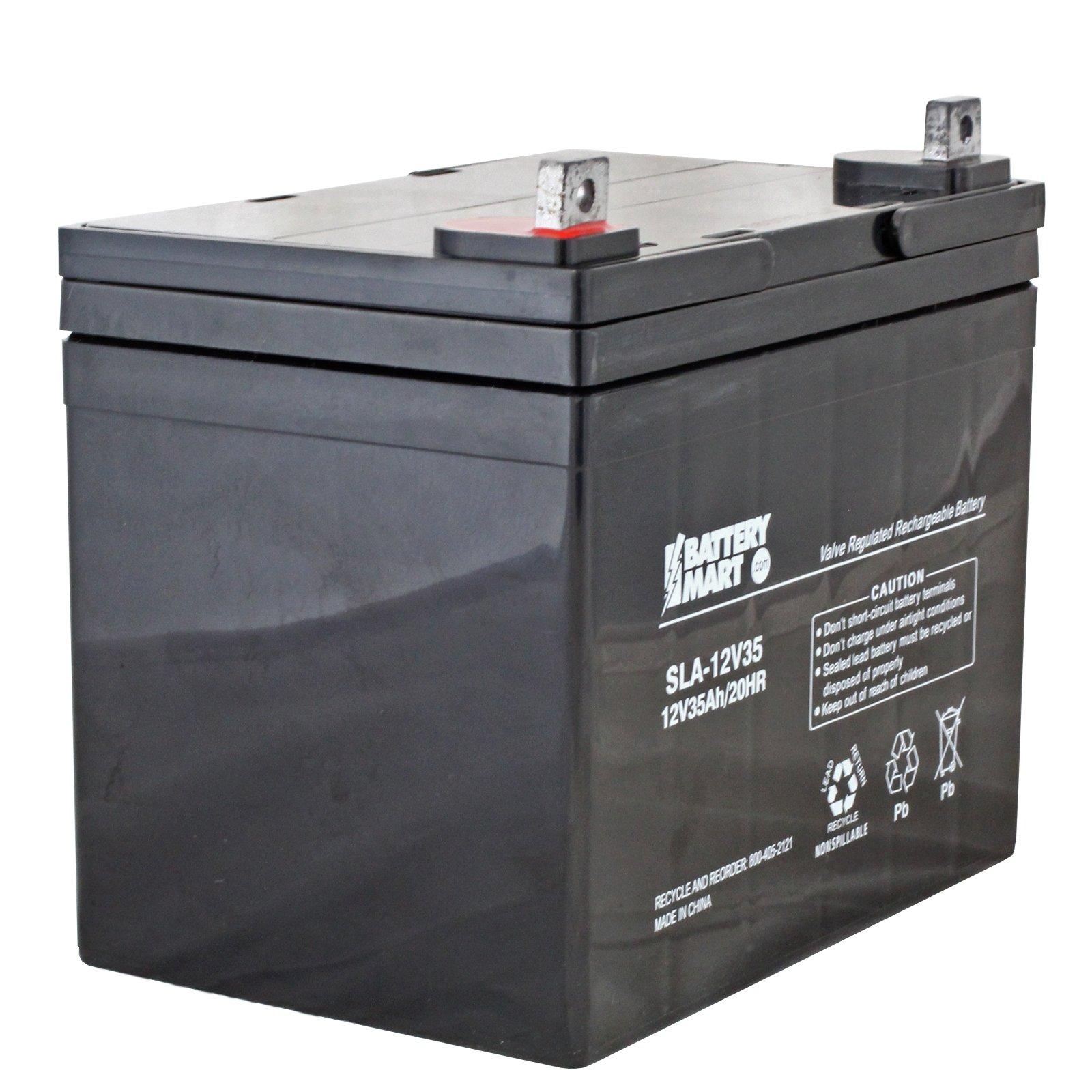 12 Volt 35 Ah Agm Sealed Lead Acid Rechargeable Battery
