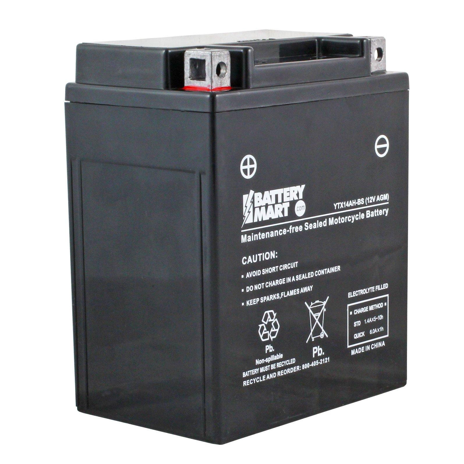 How do I charge a maintenance-free battery