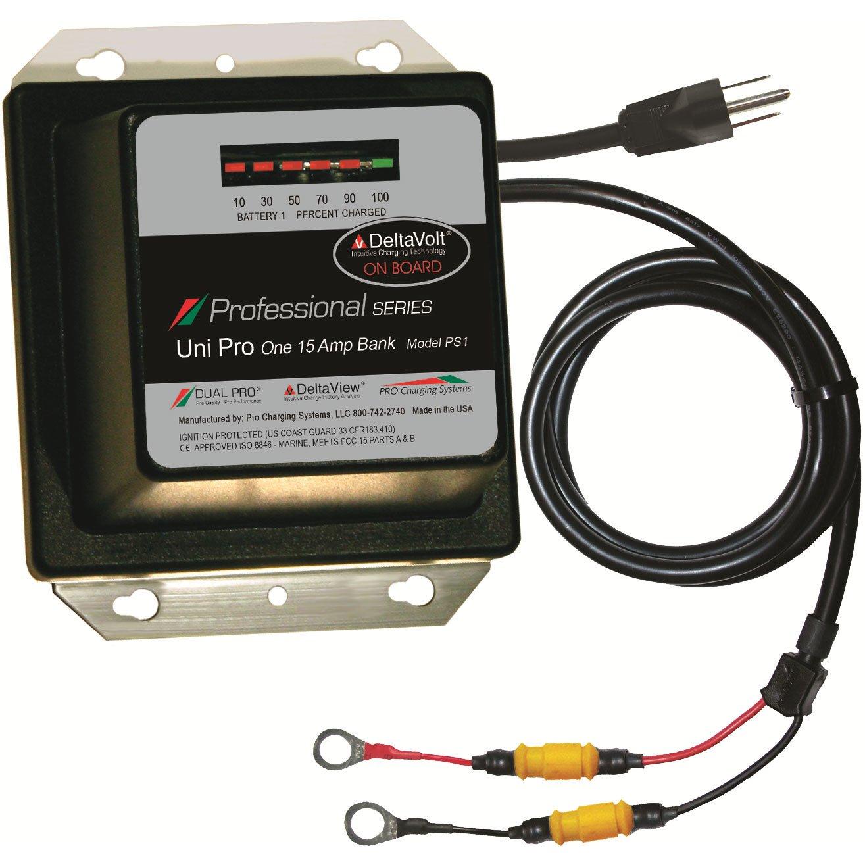 Dual Pro 12 Volt 15 Amp Battery Charger - Free Shipping: BatteryMart.com
