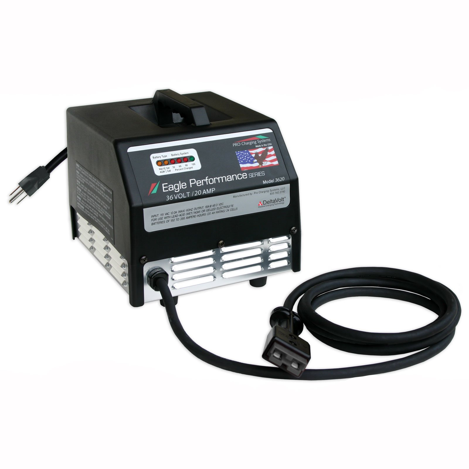 36 Volt 20 Amp Dual Pro Eagle Charger Free Shipping
