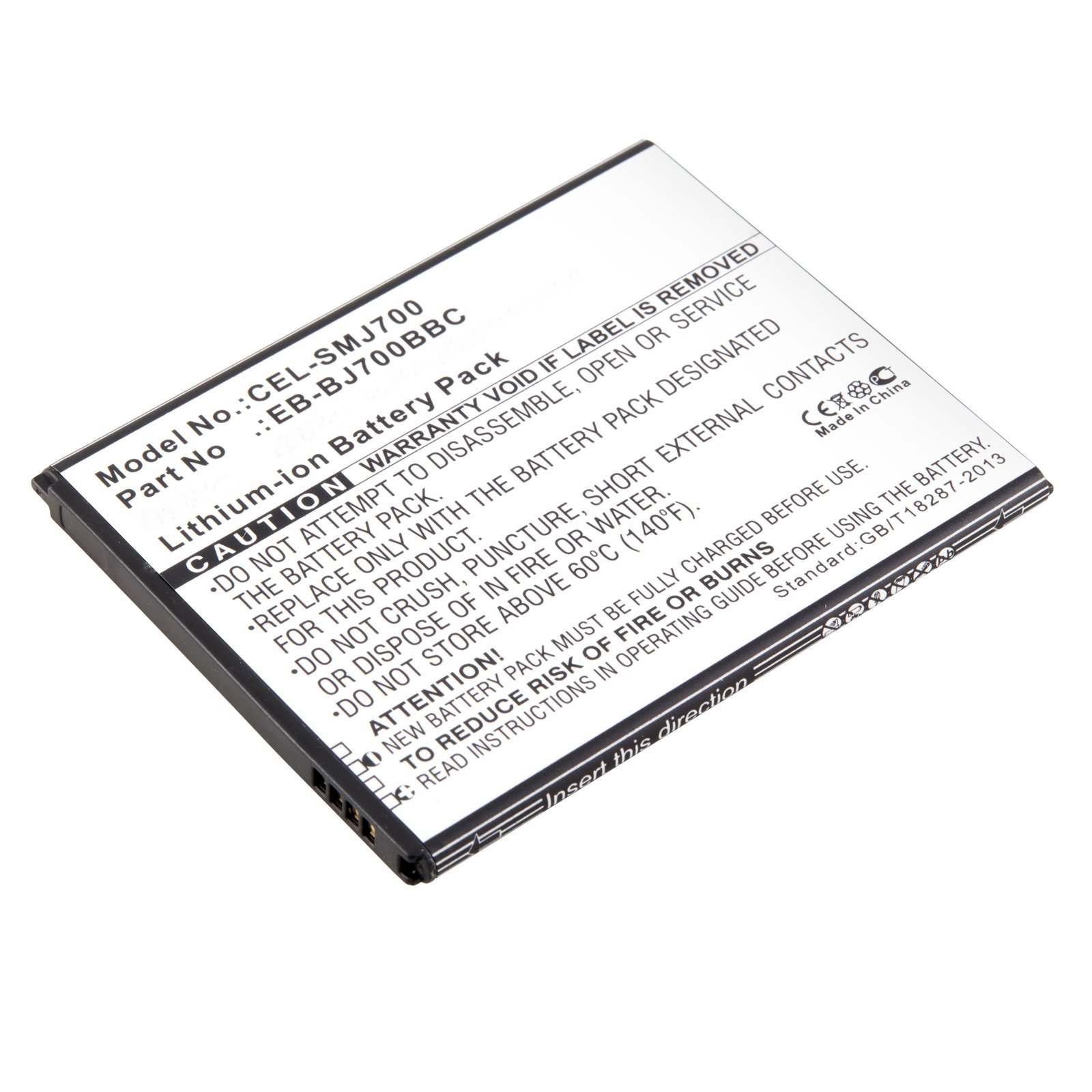 replacement samsung eb-bj700bbu cell phone battery
