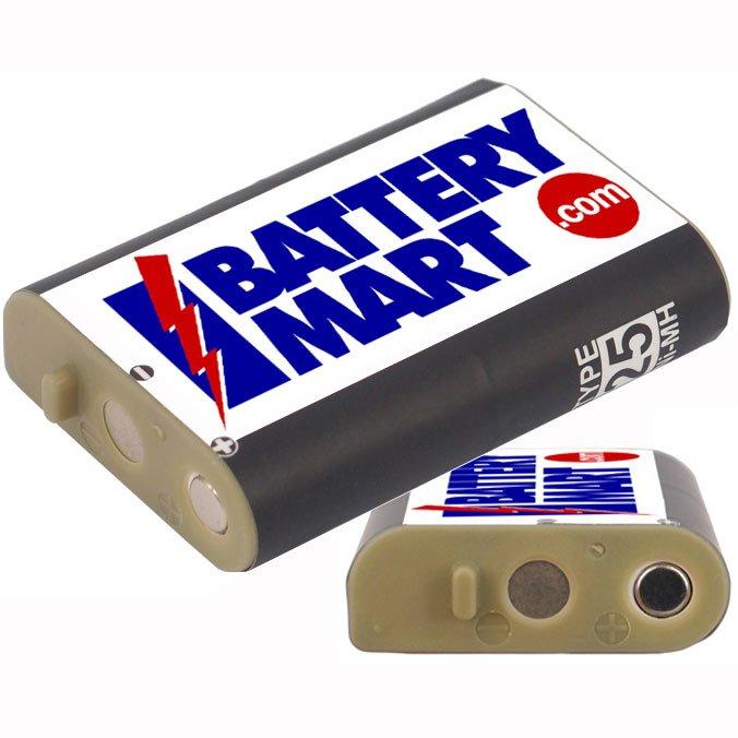 Panasonic Hhr P103 Type 25 Replacement Battery