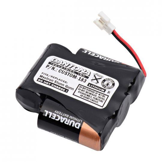 Custom Battery Pack for Arianne Myotron Stun Gun