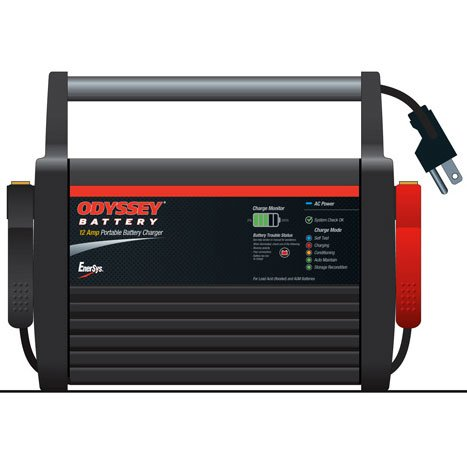 Odyssey 12 Amp Portable Charger Batterymart Com