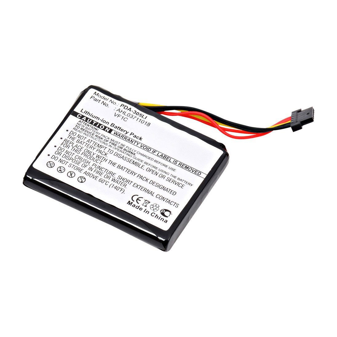 replacement tom tom ahl03711018  vf1c battery  batterymart com