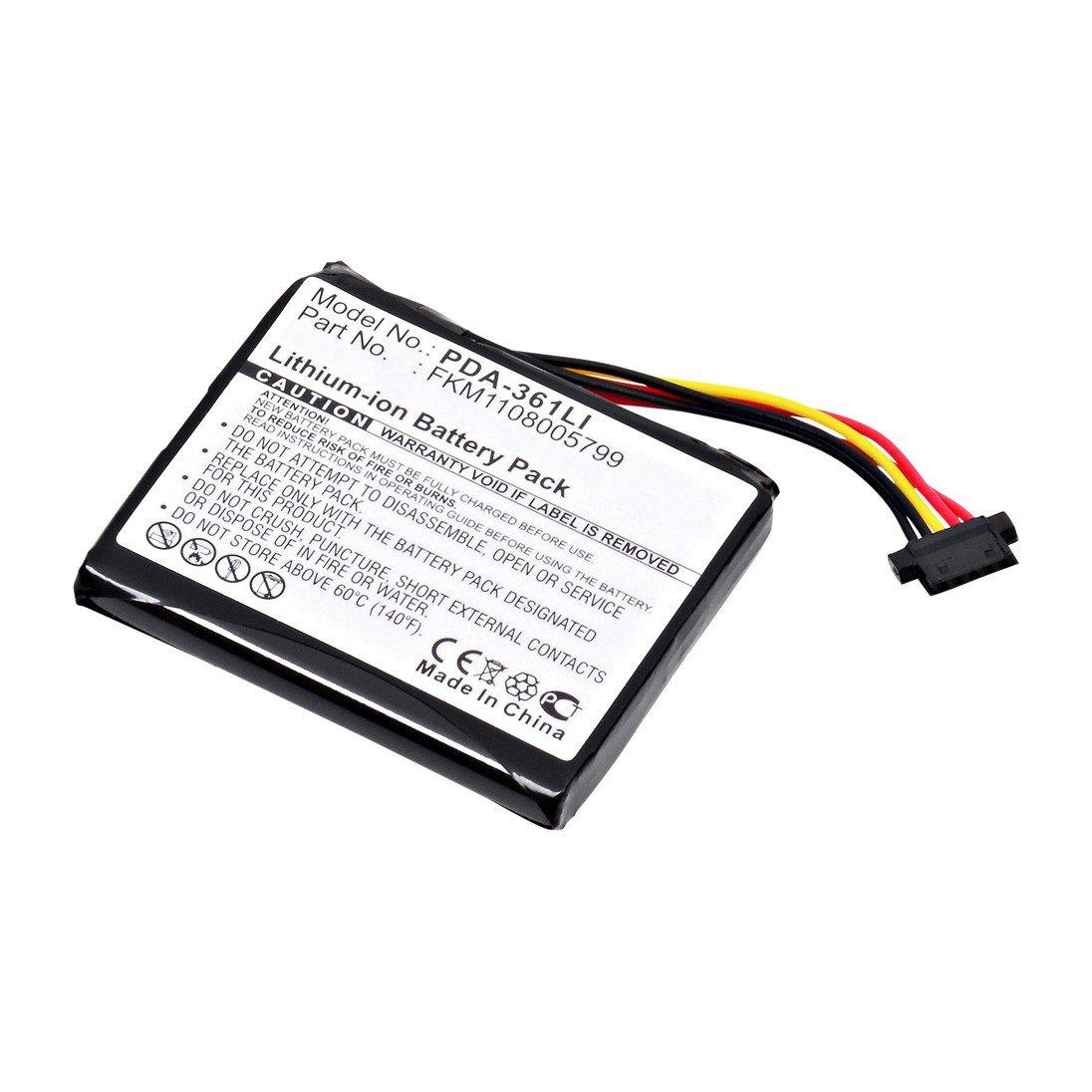 replacement tom tom fkm1108005799 battery  batterymart com