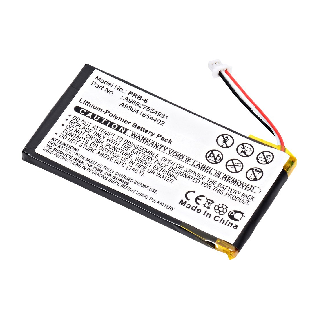 replacement sony prs-600 battery