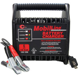 Cliplight 12 Volt 6 Amp Battery Charger Free Shipping