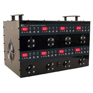 12 Volt 2 12 Amp Automatic Eight Battery Charging Station