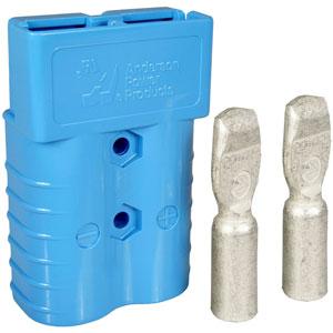 Sb 174 350 Blue Connector 2 0 Gauge Batterymart Com