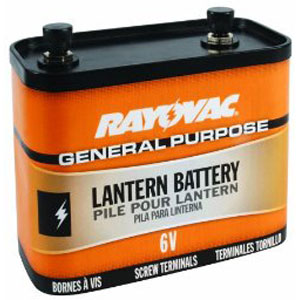 rayovac 918 general purpose 6 volt lantern battery. Black Bedroom Furniture Sets. Home Design Ideas