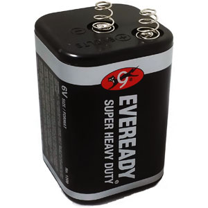 Eveready 1209 6v Lantern Battery Battery Mart