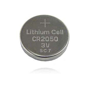 Replacement 3v Lithium Cr2050 Coin Cell Battery