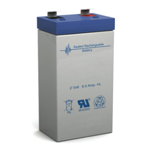 2 Volt 6 Ah Sealed Lead Acid Battery Batterymart Com