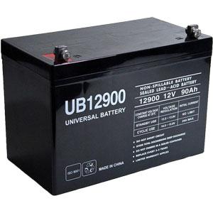 12 Volt 90 Ah Sealed Lead Acid Battery Batterymart Com