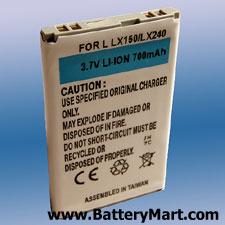 Lg Lx150 Cell Phone Batteries Batterymart Com
