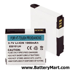 HTC Touch Pro, Diamond Replacement Cell Phone Battery