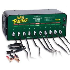 Battery Tender 12 Volt 2 Amp Battery Charger 10 Banks