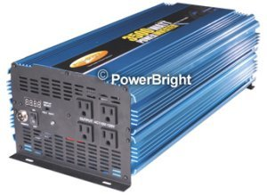 Power Bright PW3500-12 3500 Watt Power Inverter