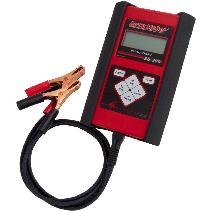 Auto Meter Sb 300 Handheld Battery Tester For 6v Amp 12