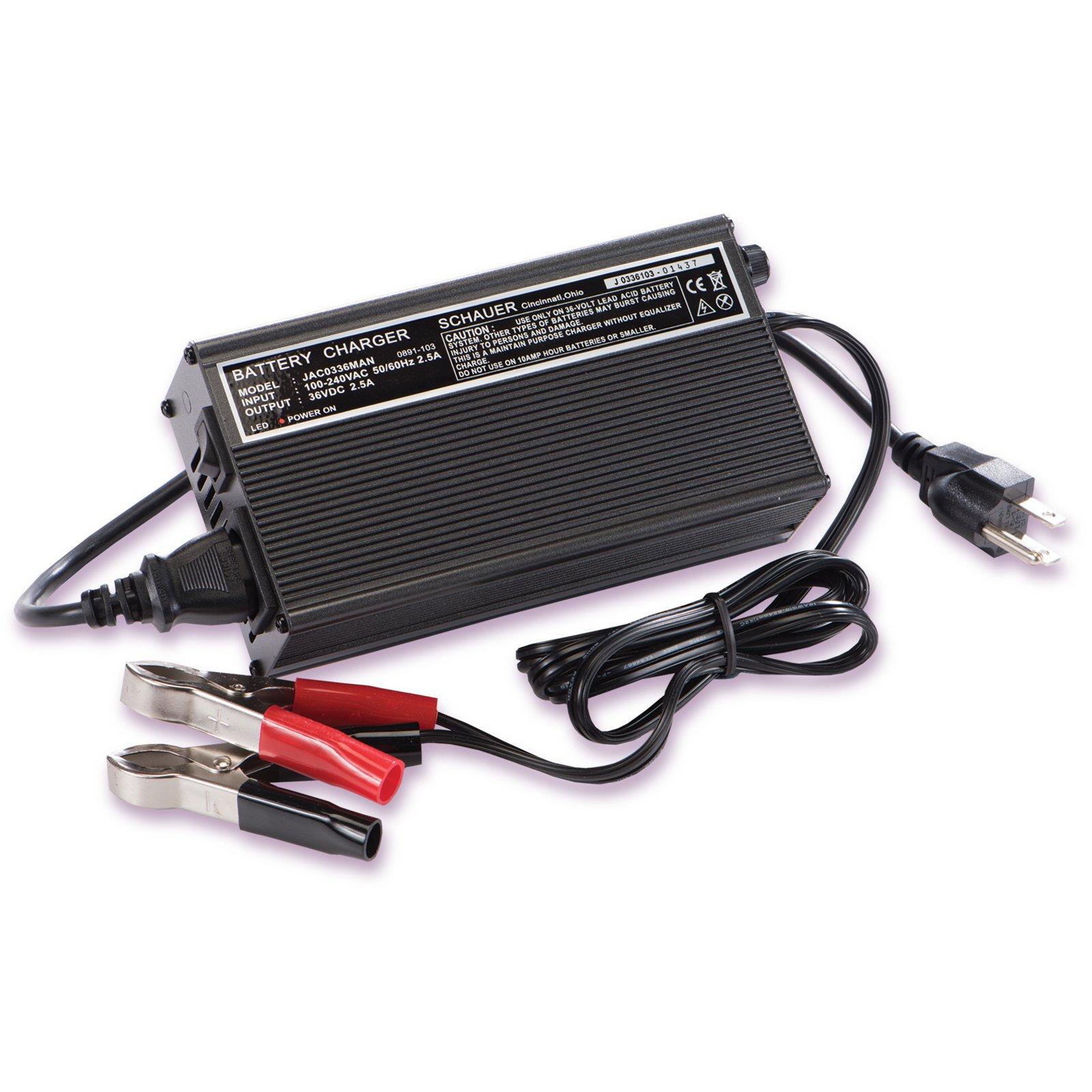 schauer jac0348man 48 volt golf cart battery maintainer. Black Bedroom Furniture Sets. Home Design Ideas