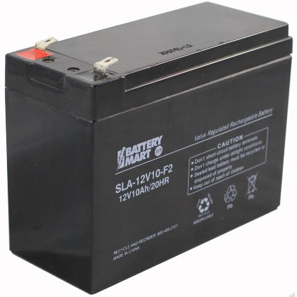 12 volt 10 ah sealed lead acid rechargeable battery. Black Bedroom Furniture Sets. Home Design Ideas