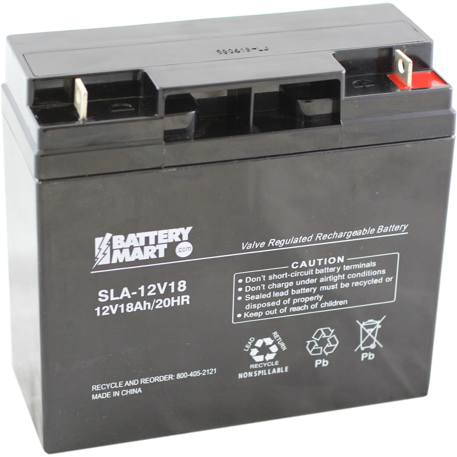 12 volt 18 ah sealed lead acid rechargeable battery with. Black Bedroom Furniture Sets. Home Design Ideas