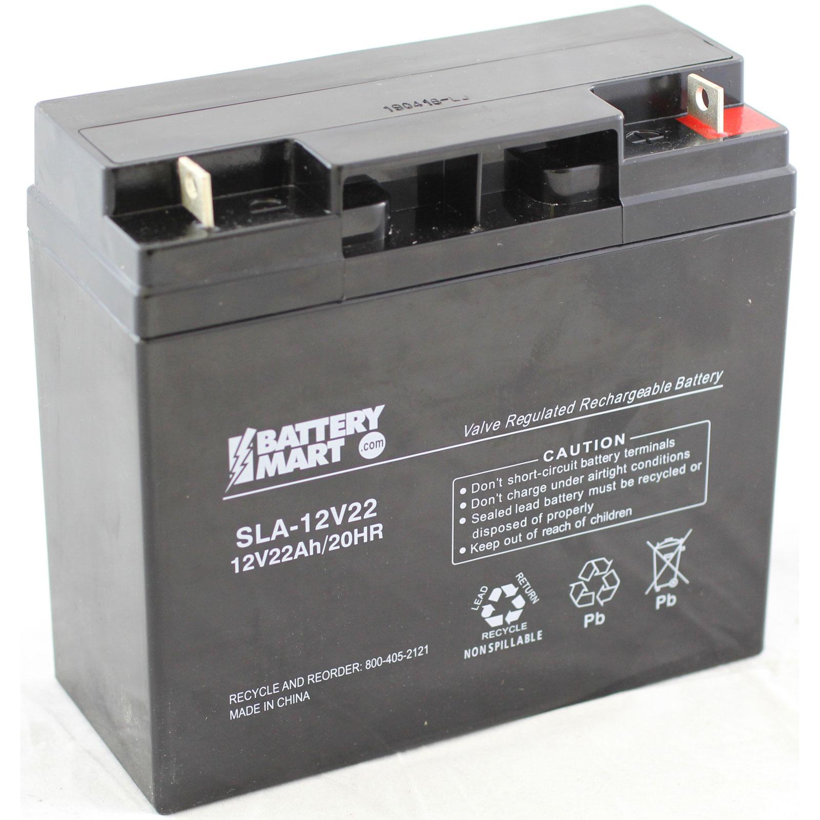 12 Volt 22 Ah Sealed Lead Acid Rechargeable Battery