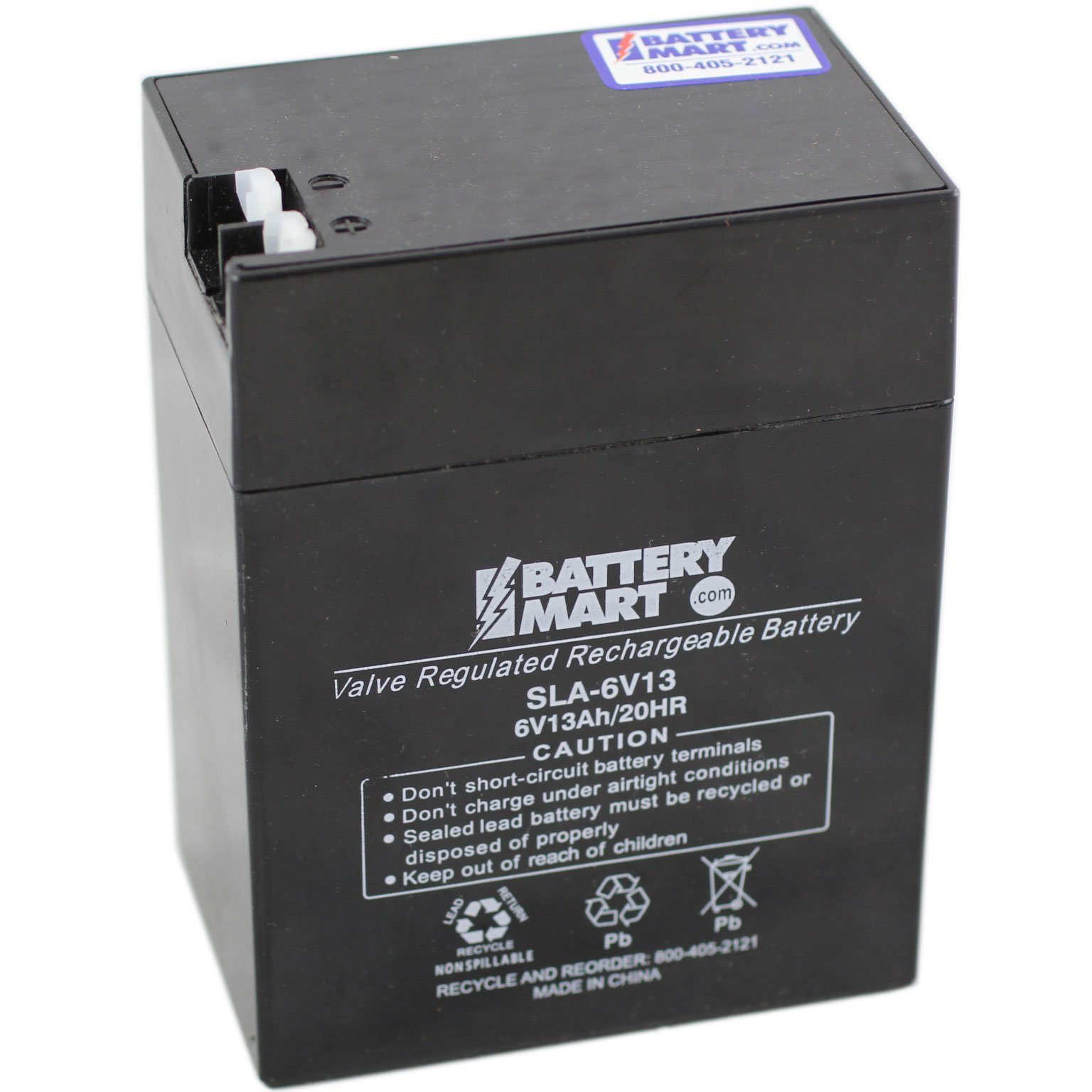 6 Volt 13 Ah Sealed Lead Acid Rechargeable Battery