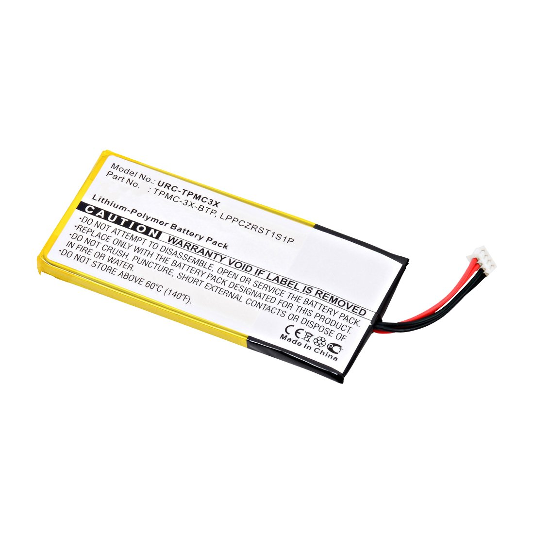 replacement crestron lppczrst1s1p remote control battery